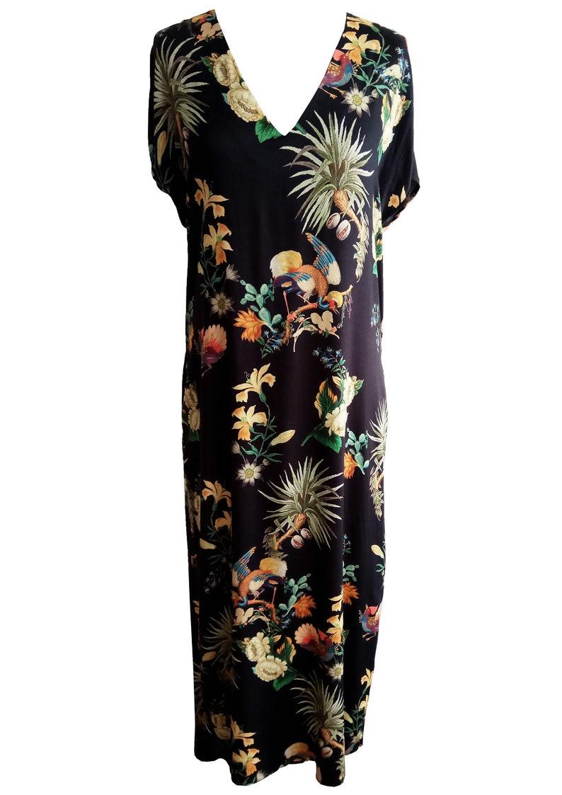 6919c3e432ac Plus Size Sunflower Maxi Dress