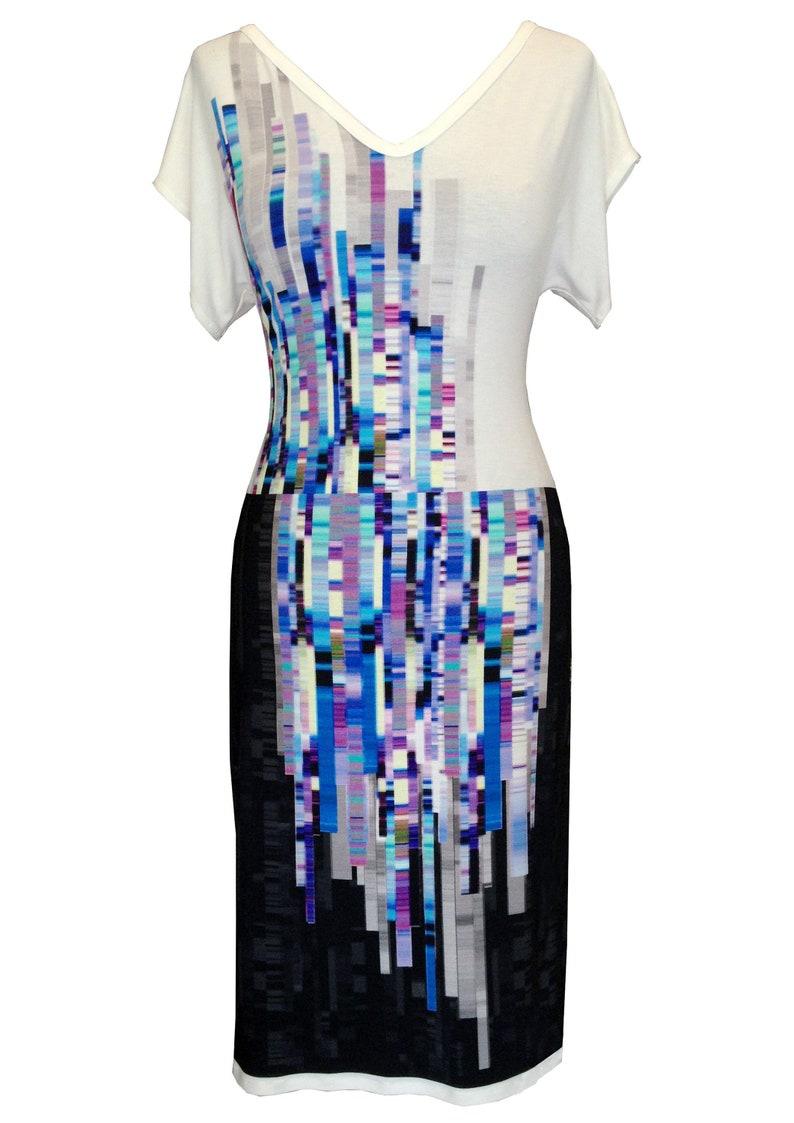 14783045ec4 Cotton Dress Plus Size Dress Geometric Print Dress Women