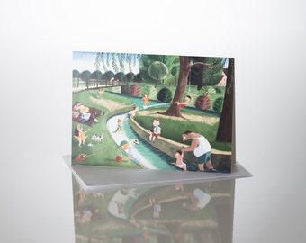 Lizzie Gardens card A5
