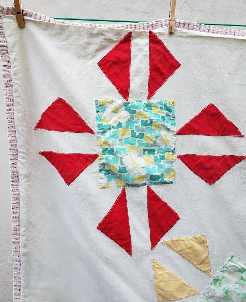 adorable little vintage quilt
