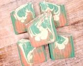 CUCUMBER MELON- NATURAL Luxury Goat Milk Soap, Handmade Soap, Birthday Gift for Her