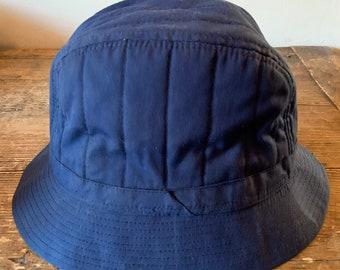 ab650a821206f Vintage Blue Bucket Hat