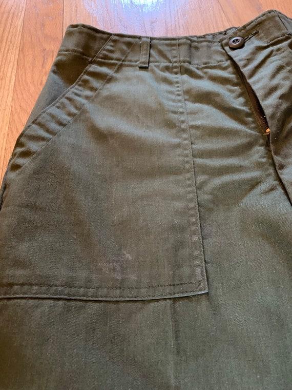 Army Trouser Pants Green
