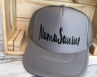 MamaSaurus One Size Hat  Dinosaur   Mom gift   Mama   christmas gift   Dinos
