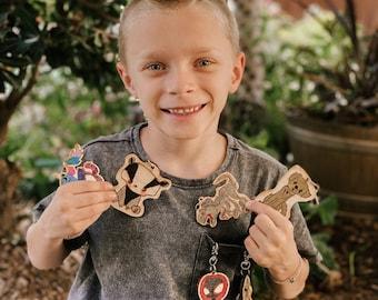 Jaxon Scott Art Keychain | Raised for learning | Kids Art |