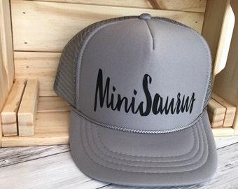 MiniSaurus YOUTH Size Hat  Dinosaur   gift   Kid hat   christmas gift   Dinos