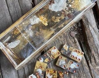 Beautiful Art Dominos Set | Gift | Game | Decor