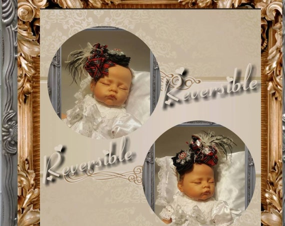 Baby Parisienne Christmas Headpiece
