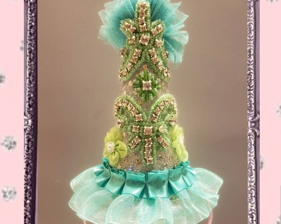 Tea Time Party Dress Mini Birthday Hat