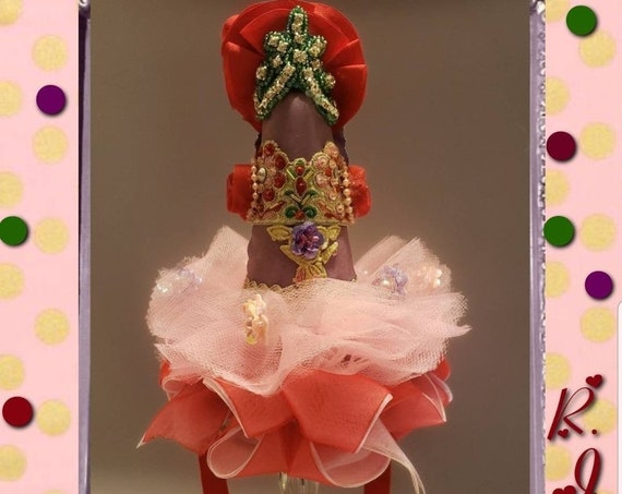 Pinata Princess Dress Birthday Party Hat