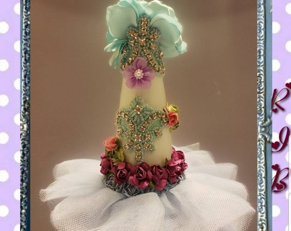 Blooming Tulle Dress Birthday Party Hat
