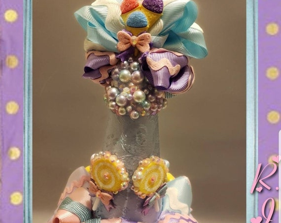 Candy Lollipop Princess Birthday Party Hat