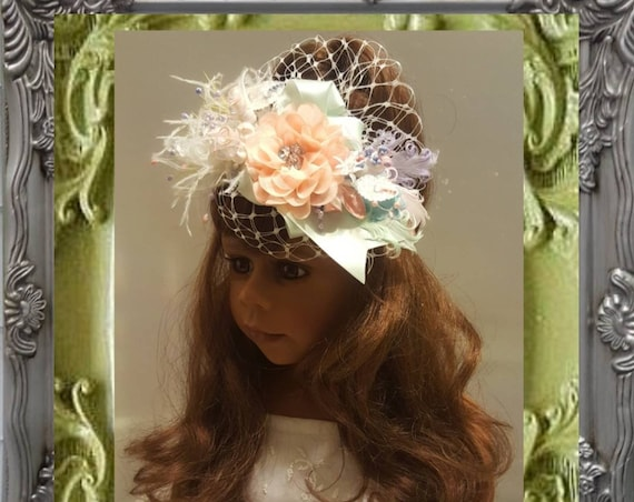 Mint Parisian Headpiece