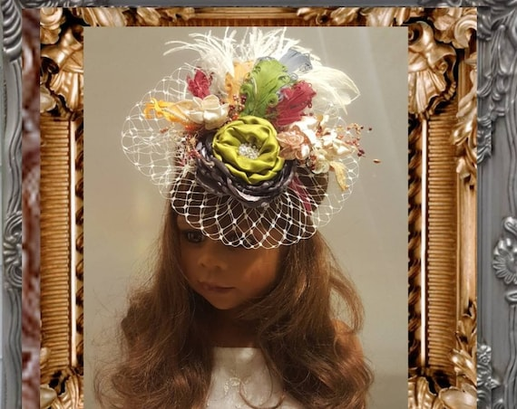 Parisian Fall Headpiece