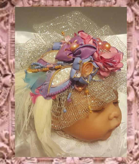 Pink Baby Parisian Headpiece