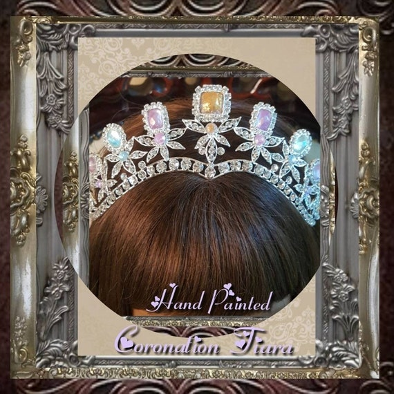 England Coronation Swarovski Crystal Tiara
