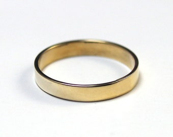 Choose ColorStyle /& Size Pearlescent Resin Rings Casted Art Flat Edge Jewelry Band Epoxy Mens Womens