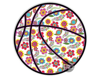 Colorful Tribal Pattern Sporty Laptop Decal Bumper Sticker Teal Turquoise Pink Green Tennis Sport Athletic Tennis Racket Ball Car Decal