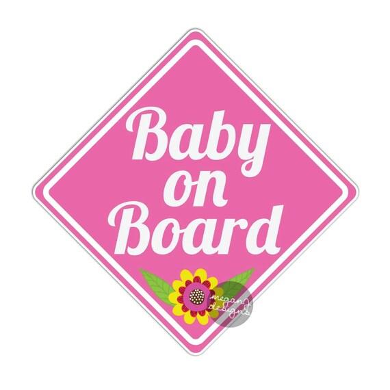 La princesse avril à bord personnalisé bébé fille VOITURE SIGNE