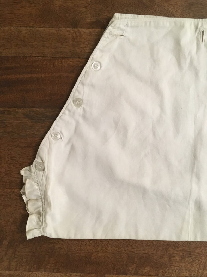 Antique Victorian Diaper Cover  Vintage  Edwardian  Vintage Baby Clothes  Rare