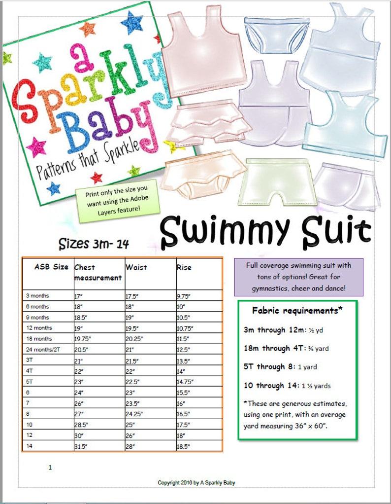 Swimmy Suit with Tankini bikini petal skirt shorts and image 0