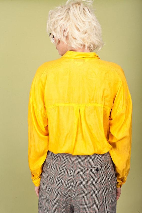 80s Plaid Black Tapered Pants Vintage Wool Petite… - image 7