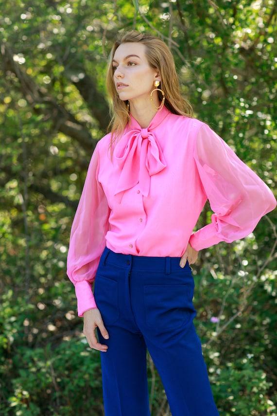 60s Dark Navy Blue Knit Pattern Trousers Vintage … - image 6