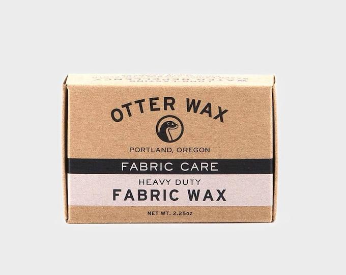 Heavy Duty Fabric Wax   Regular Bar   Otter Wax