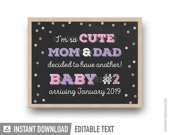 Tax Deduction Chalkboard Pregnancy Announcement Photo Prop Tax Season Baby Reveal Printable Poster December Instant Download Sign