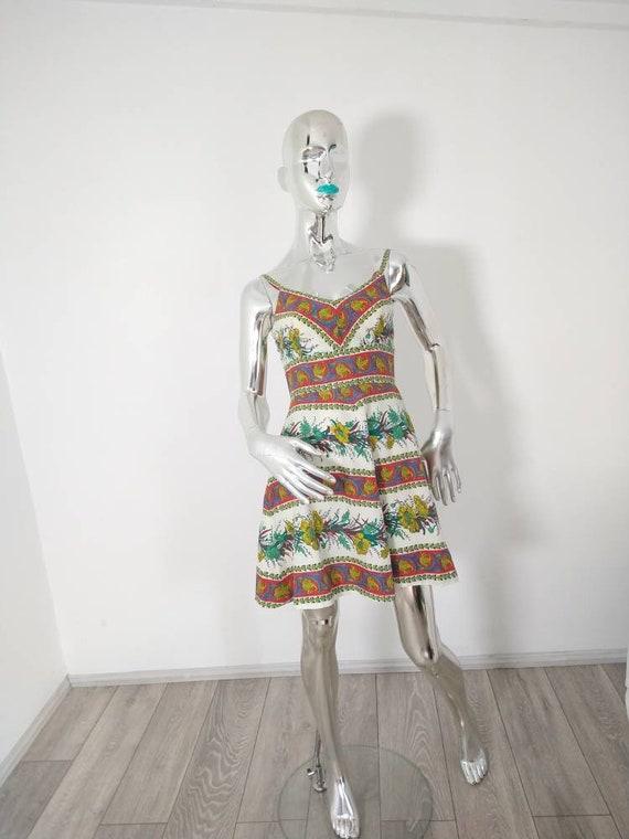 Genuine Vintage 60's Dollyrockers Mini Dress