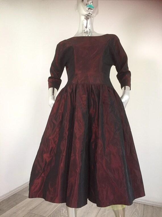 Genuine vintage 50s Designer Dress by Sambo