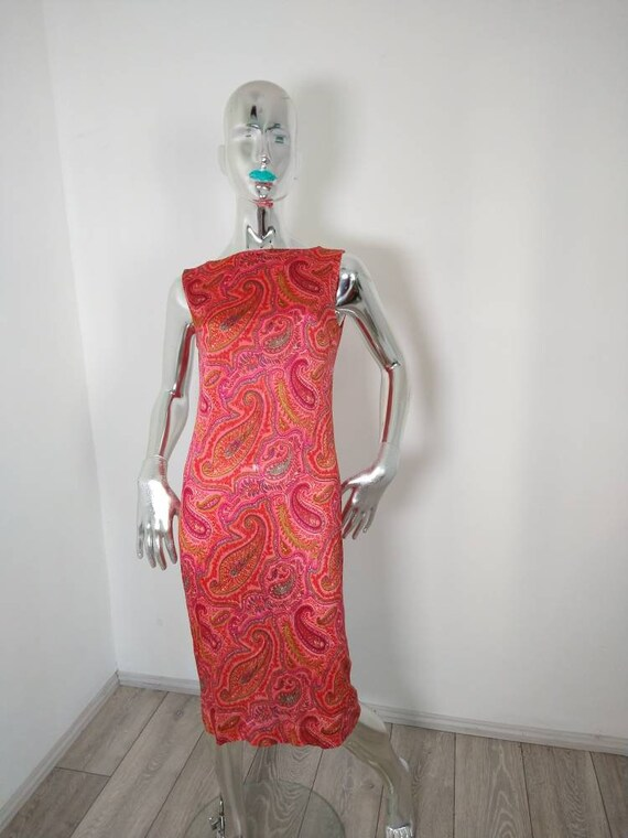 Genuine Vintage 60s Psychodelic Designer Dress by