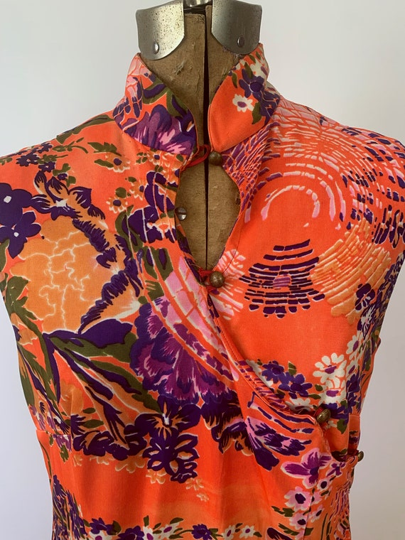1950s/1960s Hawaiian Floral Sundress