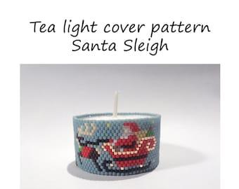 Christmas tea light | Etsy