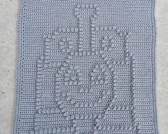 Choo Choo Charley Snuggle Blanket Pattern - Crochet Pattern - Crochet Baby Blanket  - Baby Snuggle Blanket  - Car Seat or Stroller Blanket