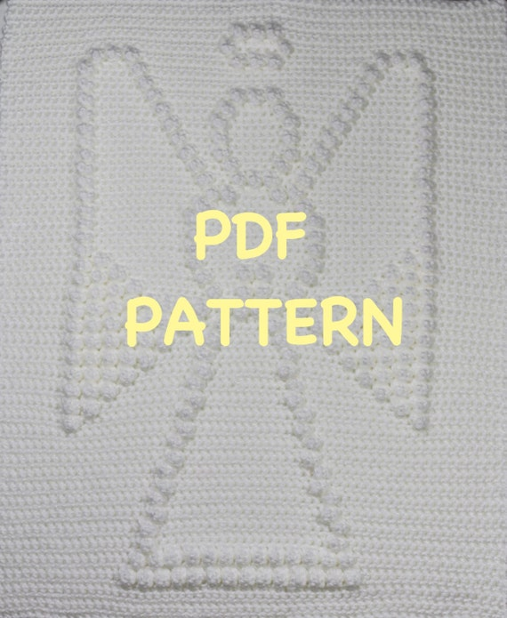 Angel Crochet Baby Blanket  Pattern - Crochet Baby Security Blanket  - Baby Snuggle Blanket - Carseat or Stroller Blanket