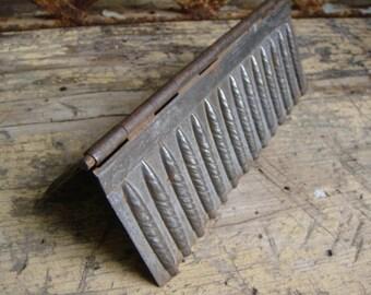 Folding Tin Chocolate Cigar Mold