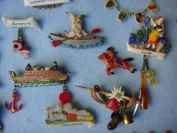 Iconic Celluloid Pin Collection - image 4