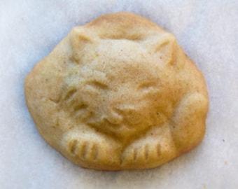Itty Bitty Kitty - CatNap Handmade Stoneware Cookie Mold