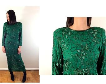 vintage Girls Christmas Dress Holiday Party Designer Velvet Elen Henderson Gorgeous Laura Ashley Style 1970s