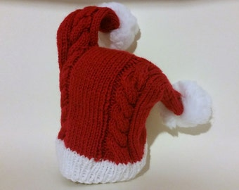 29bc8923b77 Big knit santa hat