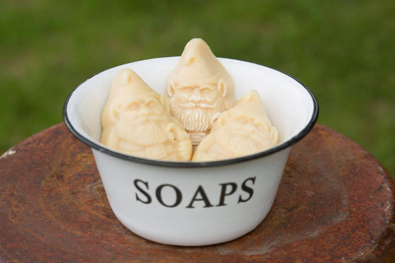 Organic Goat Milk Soap in the shape of a Gnome - Gretta's Goats. COME CHECK OUT these gorgeous Etsy handmade decor finds for the home!