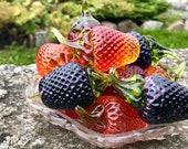 Glass Strawberry