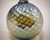 Hand Blown Glass Ornament - Holiday Dreams