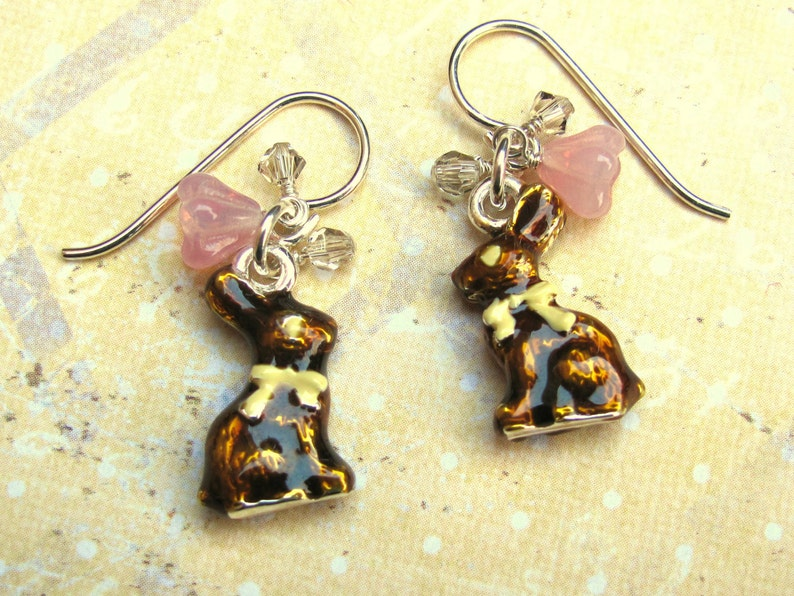 8a2eba8b2 Easter Bunny Earrings Bunny Earrings Easter Earrings | Etsy
