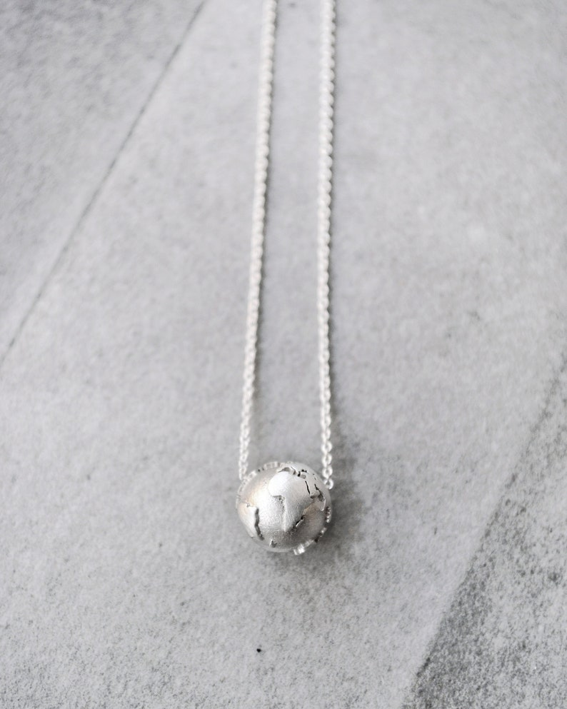 Silver Necklace / Dainty Necklace / Gift for Women / image 4