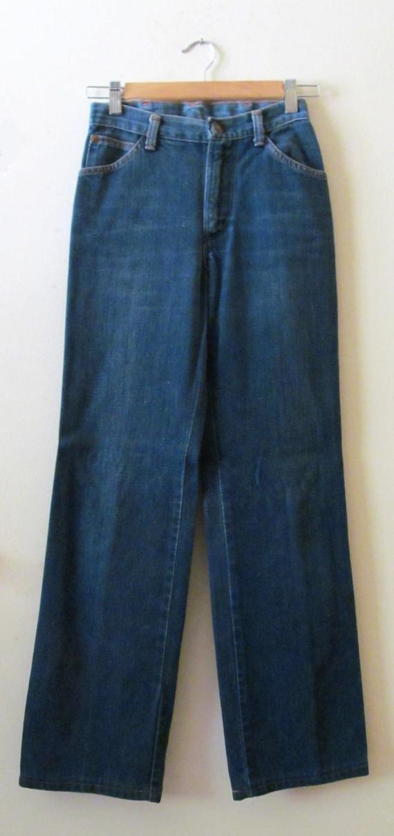 70s Wrangler High Waist Jeans 26 Waist