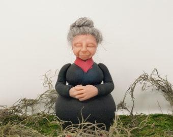 Goddess Statue ~ Mother Earth Figurine ~ Godmother Figurine ~ Godmother Gift ~ Grandmother Gift
