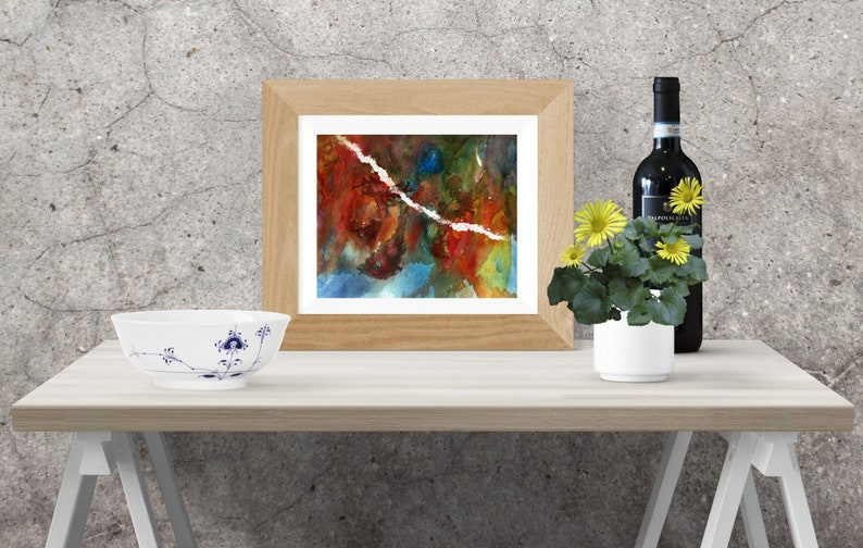 Original Abstract painting for home or office  Print  image 0