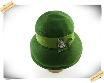 Starfire Green Cloche Hat